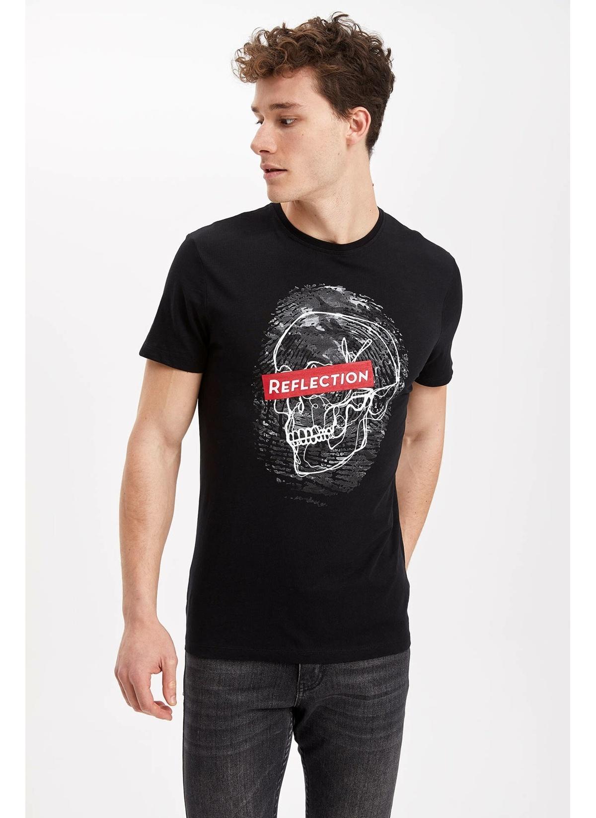 Defacto Tişört K4511az19smbk27t-shirt – 29.99 TL